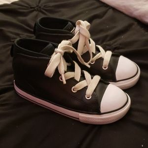 BabyConverse high tops size 10 great condition